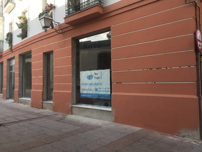 Adaptación de local en Calle Rosario